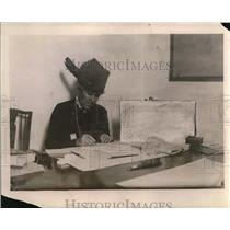 1919 Press Photo Mrs. William Fellowes Morgan, president of Y.W.C.A.