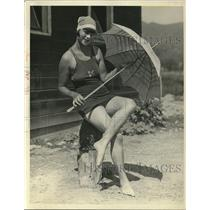 1924 Press Photo Beatrice Simpson of San Francisco