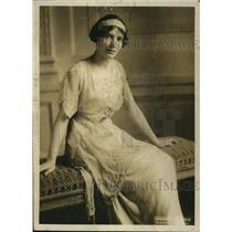 1919 Press Photo Isabel Vincent daughter of Univ of Mn pres.