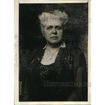 1920 Press Photo Ms. Mary Garrett Hat, Chairman of the Republican Women's Nat'l