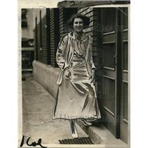 1923 Press Photo Dr. Elsa R. Berger of Washington