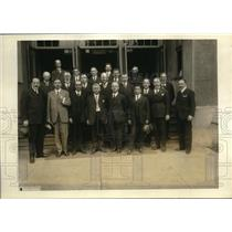 1923 Press Photo Health Officers at League of Nations meeting in the US
