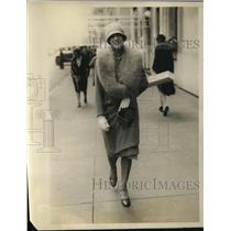 1928 Press Photo Mrs J B Sheldon-Society on Park Ave
