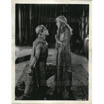 1961 Press Photo Ramon Novarro & May McAavoy in Ben Hur