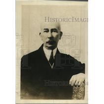 1919 Press Photo Colonel E.M. House, American delegation head