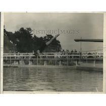 1925 Press Photo Helen Wainwright Natl womens dive champ Portsmouth NH