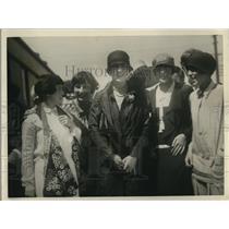 1926 Press Photo Sorority Sisters of Tennis Player Helen Wills