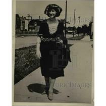 1922 Press Photo Marion Mars, president of Soy Flappers