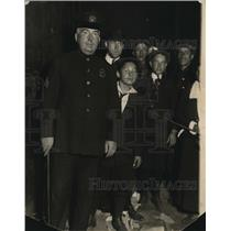 1922 Press Photo Sergeant WH Mahan Police Officer, Security at 1922 World Series