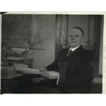 1918 Press Photo Commissioner of Correction, James Hamilton