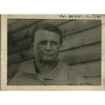 1920 Press Photo Foster mother to Jesse Walker, Mrs. Anna Walker