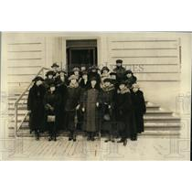 1922 Press Photo Women's Overseas Service League in Washington DC, charter for