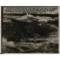 1954 Press Photo Niagara Falls NY Major Lloid Hill the last of the daredevil