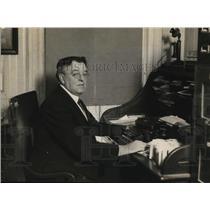1921 Press Photo Dr Henry Marsh Warren, President, Save-A-Life League, New York