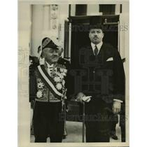 1928 Press Photo Katsuji Debuchi, newly appointed Japanese Ambassador to U.S.