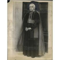 1922 Press Photo Augusto Sili Cardinal Priest of Italy