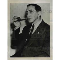 1938 Press Photo Communist candidate for Governor, Israel Amter