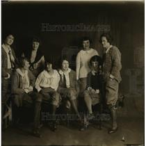 1923 Press Photo M Borcher, K Walsh, H Green, H Gokey, M Schmiez, B Trotin