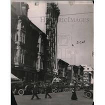 "1917 Press Photo Los Angeles' ""Movie Row"""