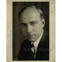 1929 Press Photo Alois Hawnilla WEAF Announcer