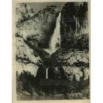 1926 Press Photo Yosemite Falls