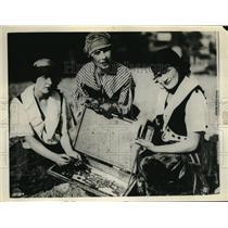 1927 Press Photo Treasure disclosed in Santa Cruz