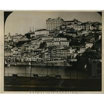 1927 Press Photo Oporto Portugal  peaceful scene before revolution