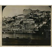 1927 Press Photo Oporto Portugal peaceful scene before revolution