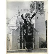 1935 Press Photo Wataa Montazuma, 1st Representative of the many Indian Tribes