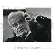 1985 Press Photo Sir Roy Halliday