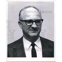 1970 Press Photo Edgar C. Evans, FAA Award