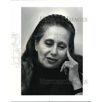1990 Press Photo Fashion Designer Paoli Fendi