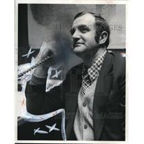 1974 Press Photo Joe Garrihy Midwest Air Charter