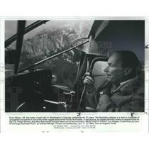 1982 Press Photo Ernie Gibson Bush Pilot for Washington's Cascade Wilderness