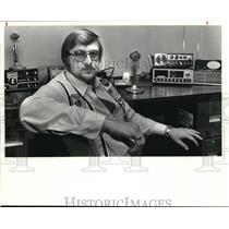 1981 Press Photo Jack Glade his C.B. Handle is Savage