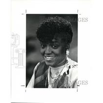 1990 Press Photo Fashion Designer, Diane Hinson