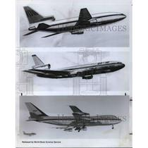 1970 Press Photo Airplanes Boeing 747 - cva21935
