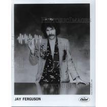 1982 Press Photo Jay Ferguson Pop Rock Singer Songwriter TV Composer