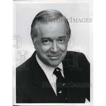 1981 Press Photo Hugh Downs of 20/20