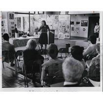 1981 Press Photo McDonalds sponsored Cleveland Opera, Singer Aija Jirgensons