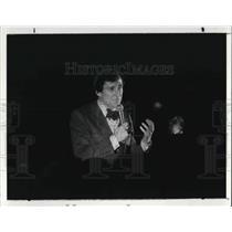 1982 Press Photo Kasper Fashion Show, Higbbe's