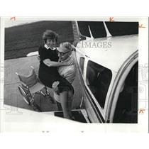 1981 Press Photo W. Roger and Marian Levering