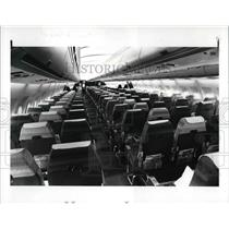 1985 Press Photo Interior View Of The Condor Airbus