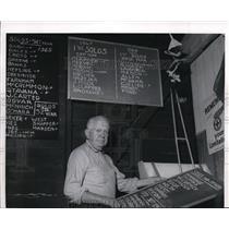 1970 Press Photo Ernest C. Hall Warren, pioneer aviator and operator