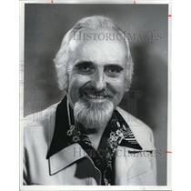 1976 Press Photo Dave Hawthorne, Conductor WJW Radio Music Show