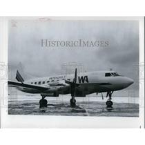 1983 Press Photo Wright Airlines