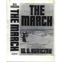 1979 Press Photo The March novel by W.S. Jack Kuniczak