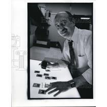 1980 Press Photo Arnold H. Drapkin Pictures Editor Time Magazine