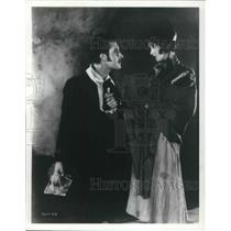 1973 Press Photo Lillian Gish and John Gilbert in La Boheme 1926 - cvp13707