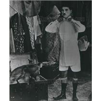 1970 Press Photo Charlie Chaplin Actor Comedian Filmmaker Silent Films